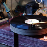 Charles Altmann wooden turntable