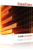 Cinesamples freebies