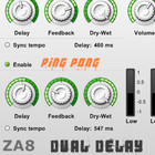 7th Air Productions ZA8 Dual Delay