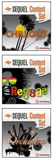 Steinberg Chillout, Reggae and Orchestra Sequel Sets