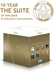 Arturia 10 Year Suite