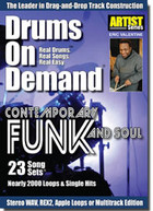 Drums On Demand Volume 13: Contempory Funk & Soul
