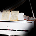 Imperfect Samples Hohner White Baby Grand Piano