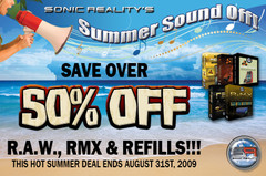Sonic Reality Summer Sound Off