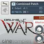 Cinesamples Drum of War Combined Patch