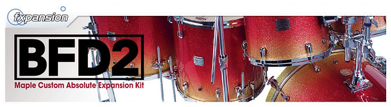 FXpansion Yamaha Maple Custom Absolute Expansion Kit