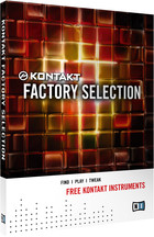 Native Instruments Kontakt Factory Selection