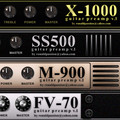 Ronald Passion X-1000, SS500 and M-900