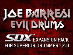 Toontrack / Platinum Samples Joe Barresi Evil Drums SDX
