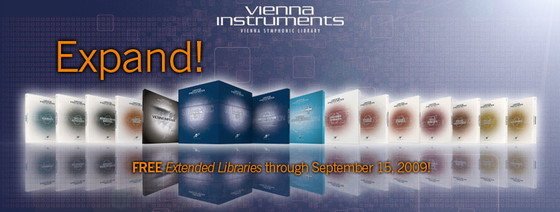 Vienna Symphonic Library Expand!