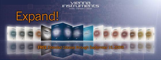 Vienna Symphonic Library Expand!