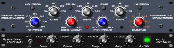 Antress Modern Equalizer MK-IV / Limiter MK-IV