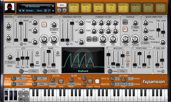 FXpansion DCAM: Synth Squad -  Amber