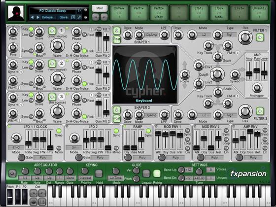 FXpansion DCAM: Synth Squad - Cypher