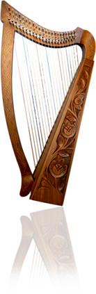 Cinematique Instruments Celtic Nylon Harp