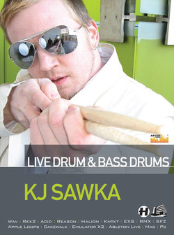Loopmasters KJ Sawka: Live Drum & Bass Drums