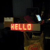 Nerdkits DIY marquee LED array display
