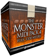 Toontrack Monster MIDI Pack 4 - Fills Odd Meters