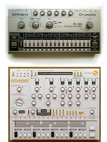 Roland TR-606 Drumatix vs D16 Group Nithonat