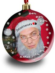 Brainworx Weihnachtsmann