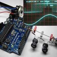 Lab3 Arduino Sine wave Generator