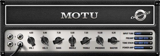 MOTU Custom '59 Amp