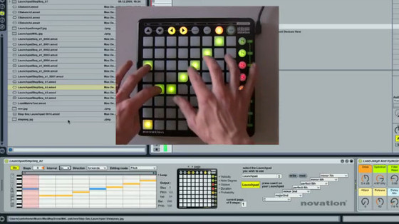 Novation Launchpad StepSeq