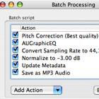 TwistedWave batch processing