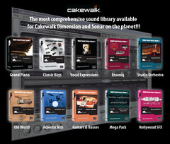 Digital Sound Factory Cakewalk Dimension LE/Pro Expansion Packs