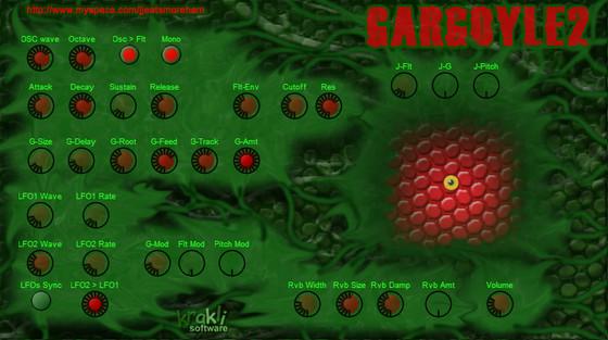 Krakli Synths Gargoyle 2