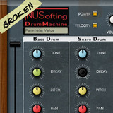 NUSofting Broken Drum Machine (Branis skin)