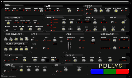 Osiris Synths Polly8