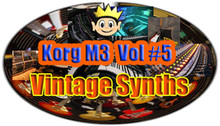 Kid Nepro Korg M3 Volume #5 - Vintage Synths