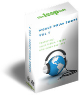 The Loop Loft World Drum Loops Volume 1