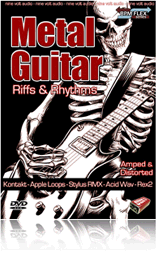 Nine Volt Audio Metal Guitar: Riffs & Rhythms