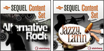 Steinberg Alternative Rock and Jazzy Latin Sequel Content Sets
