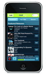 Beatport iPhone App