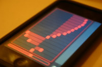 Little-Scale Periodic Waveform Editor for iPhone via TouchOSC