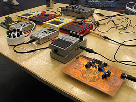 Chris Carter's instrumentation (image by ASMO)