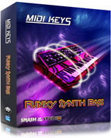 Smash Up The Studio MIDI Keys: Funky Synth Bass