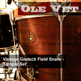 Eric Beam Ole Vet - Vintage Gretsch Field Snare