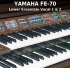 Forgotten Keys Yamaha FE-70 Electone Organ - Lower Ensemble Vocal 1 and 2