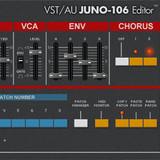 reKon audio VST-AU JUNO-106 Editor
