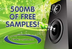 Time+Space 500MB free samples
