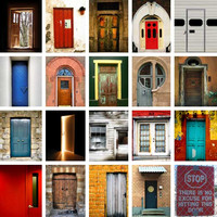 20 doors (see orignal post for photo credits)