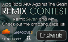 FindRemix Luca Ricci AKA Against The Grain Remix Contest