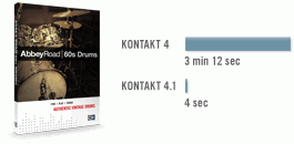 Native Instruments Kontakt 4.1 - Background loading