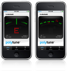 TC Electronic PolyTune iPhone App