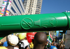 Vuvuzela by Dundas Football Club @ Flickr