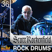 Loopmasters Scott Rockenfield Rock Drums